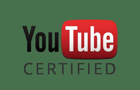 Logo YouTube Certified