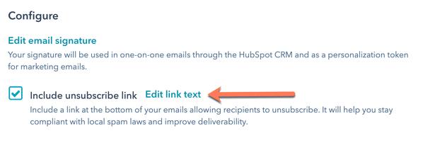 HubSpot toestemming intrekken